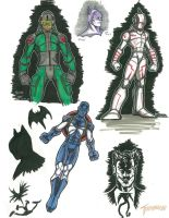 Character Sketches 111214 by stourangeau