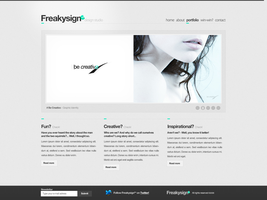 Freakysign - Design Studio by ejsing