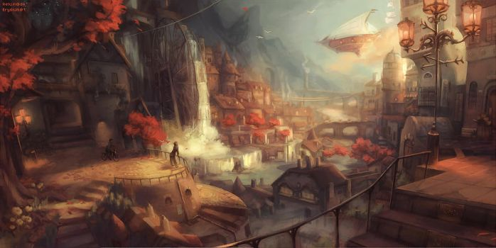 The City of Ambervale by Reluin