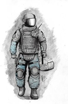 Rook Watercolor by MRNEIN9