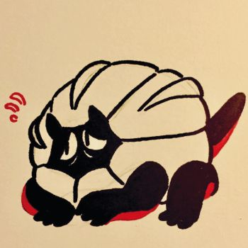 10.10.16 Shelgon is loafing around by beeZah