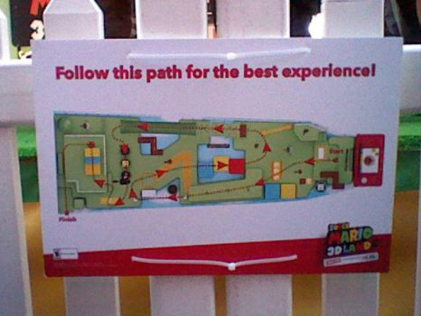 Super Mario 3D Land Launch Party Arena Map by MachBiker