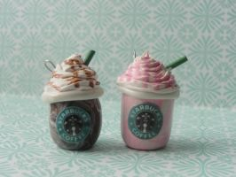 Cute Clay Starbucks by CraftyOlivia