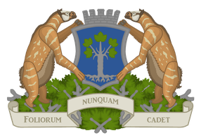 Greater Coat of Arms of Acernia by CoralArts