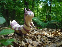 Furret papercraft by TimBauer92