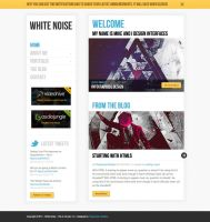 White Noise HTML Site Template by i337m1k3