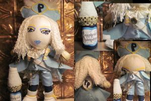 Prince Poppycock doll details by VilleVamp