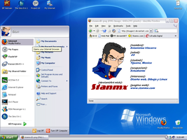 My Window$ xP Desktop by stanmx