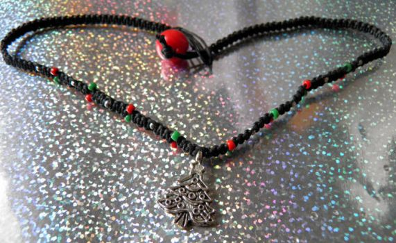 Christmas Tree Choker by Jenna-Rose