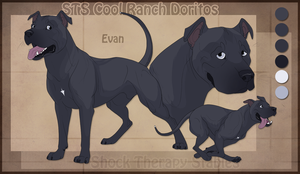 STS Dog - Evan by ShockTherapyStables