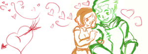Bolin and Ginger *insert heart here* by SomeonesParamore
