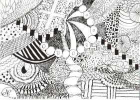 My first Pattern Drawing by Jaloic