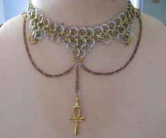 Ankh Maille by HoneyCatJewelry