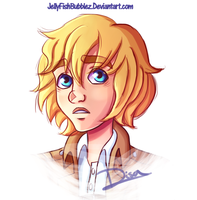 Uncertain Armin by Jellyfishbubblez