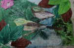 Birds by the waterfall [Art Assignment] by Shahdar