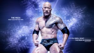 The Rock HD WallPAper by dmitrykozin99