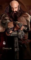 Dwalin (details) by Ondjage