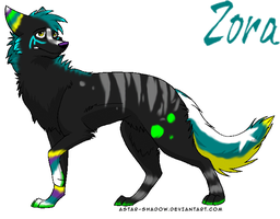 Zora by DappleFeather