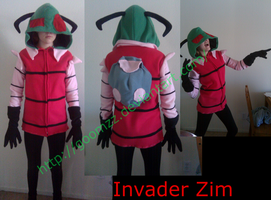 Zim Cosplay Jacket by goomzz