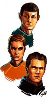 Star Trek sketch by yosilog