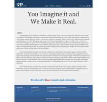 INP Studios Website by Garbo-X