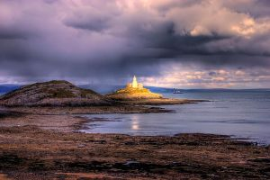 South Wales lighthouse V1 by AngiWallace