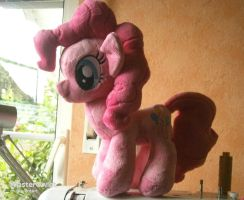 Handmade Pinkie Pie Plushie - For Sale! by HipsterOwlet