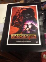 Star Wars Revenge of the Jedi 'Signed Poster' by extraphotos