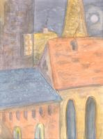 Rooftops by cheshirescratch