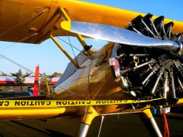 Stearman from the side by BaronGirl