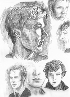 A Study in Benedict Cumberbatch by GABASAUR