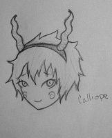 Homestuck Calliope one by Catchmewithyourlips