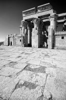 The Temple of Kom Ombo by Bojkovski