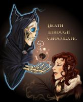 Death trough choclate by Schattencyra