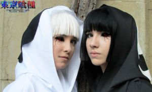 Yasuhisa twins (Tokyo Ghoul) by Arrocito