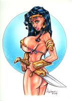 Dejah Thoris by Axebone