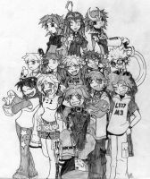 Title Front Cast Picture TWO by derekoe0091