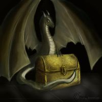 Dragon's chest by Smaragdia