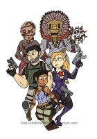 Resident evil 5 by thelimeofdoom