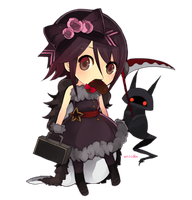TM Chibi Commish: Akuma by chuwenjie