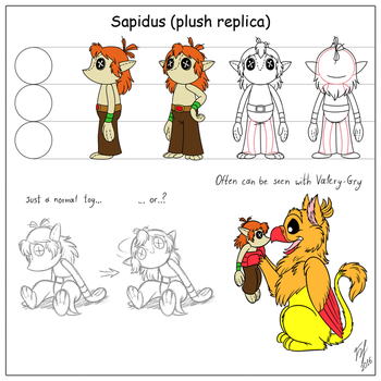 Sapidus Plush Model Sheet by Goldy--Gry