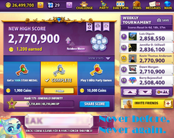 My Best Bejeweled Blitz Score. Period. by TheSkull31