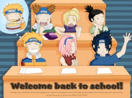 Naruto: Back to School by weeshabangxd