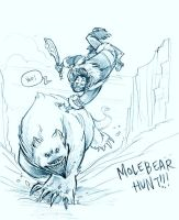Molebear Hunt for Ruff by NoSelfControl