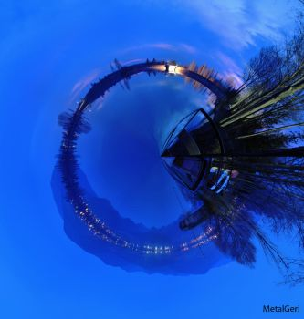 Little planet of Markaz by MetalGeri