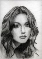Keira Knightly Portrait by 00mc-archangel