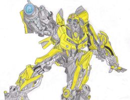 Movie Bumblebee Colored by BeeLovesCade