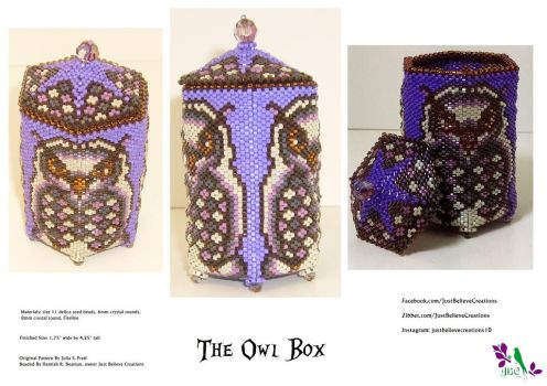 The Owl Box - SOLD by JustBelieveCreations