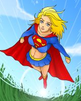 Supergirl by OmegaSupreme