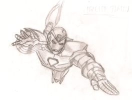 Iron Man Pencil by schris91